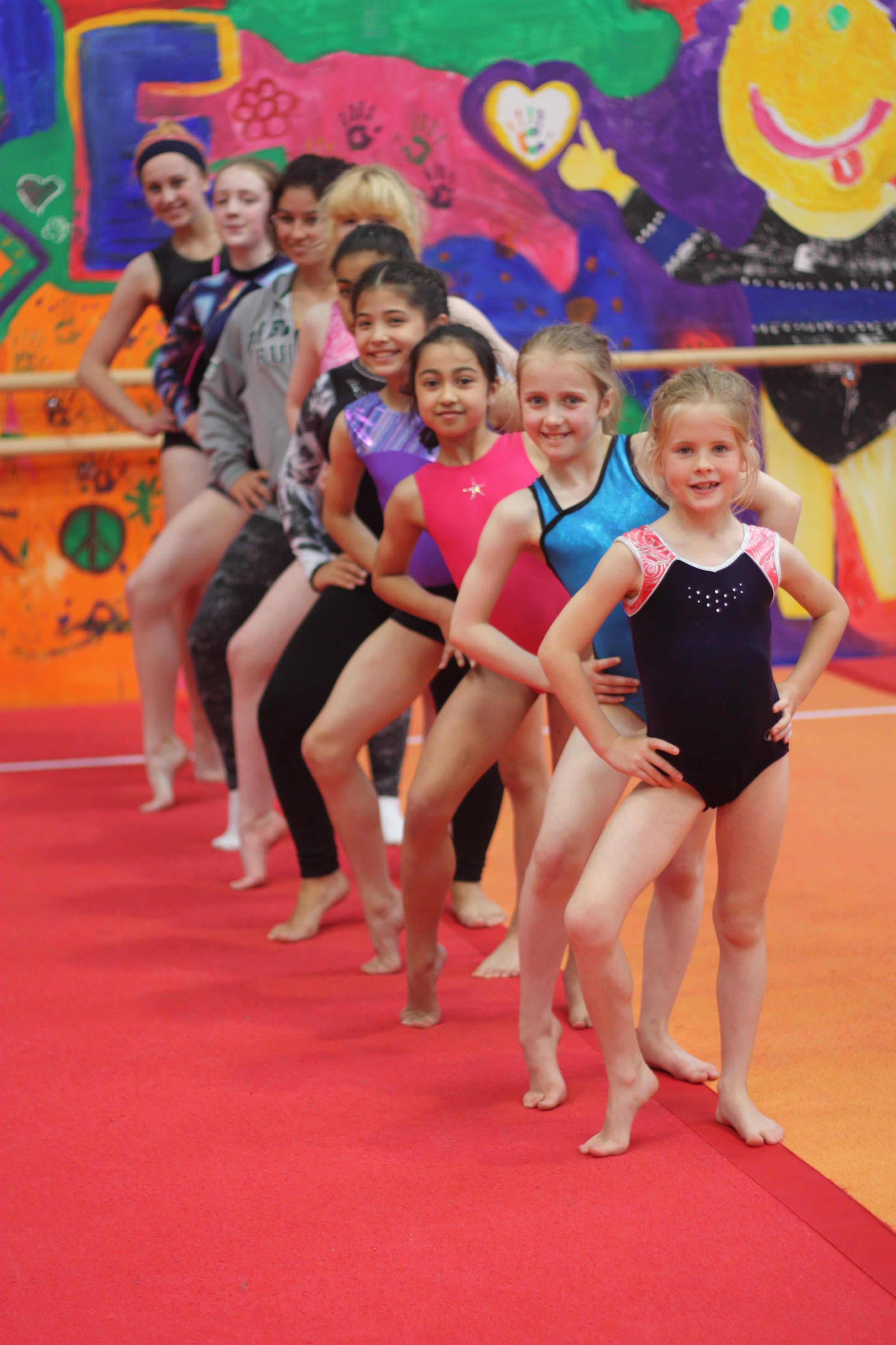Teen Gymnastics Camp