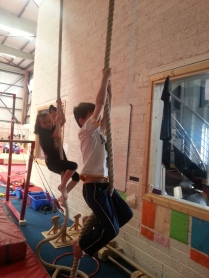 Climbing the Ropes!