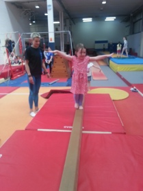 Balancing on Beam!